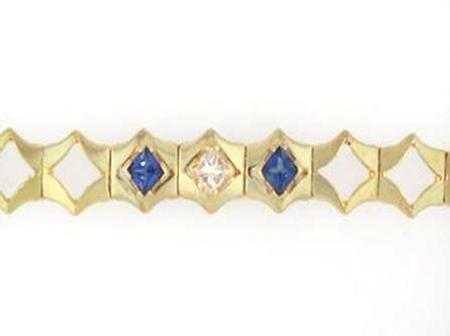 14k Yellow Gold Diamond Add a Stone Bracelet                F5083